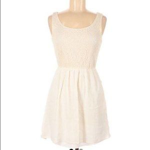 City Triangles Sleeveless Fit and Flare Dress